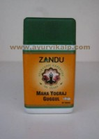 Zandu MAHA YOGRAJ GUGGUL, 40 Tablets useful in Musculo-Skeleton Disorder